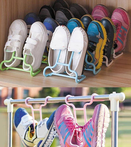 Image of Kids Shoes Stand Hanger and Organizer