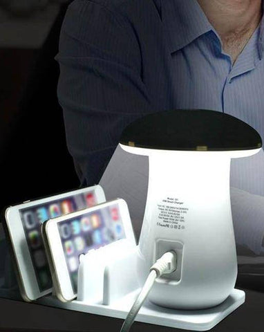 Image of Multi-Port Fast Charging Dock & Lamp