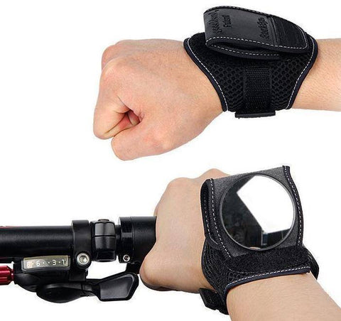 Image of Bicycle Rear-Mirror Wristband Bike