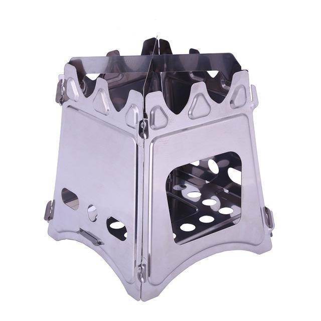 Compact Folding Outdoor Wood Stove