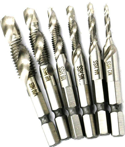 Image of Hand Tap Drill Bit Set