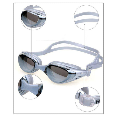 Image of Anti Fog Swimming Goggles with UV-resistant lens