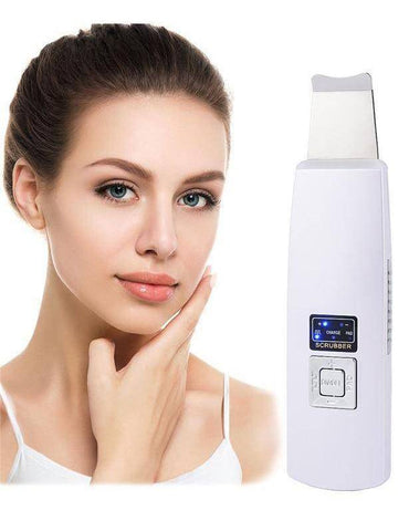 Ultrasonic Deep Face Cleaning Scrubber