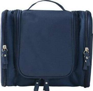 Image of Multi-compartment Toiletry Organizer Travel Bag