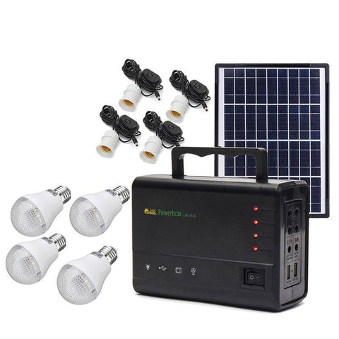 Image of Portable Solar Charging Power Generator