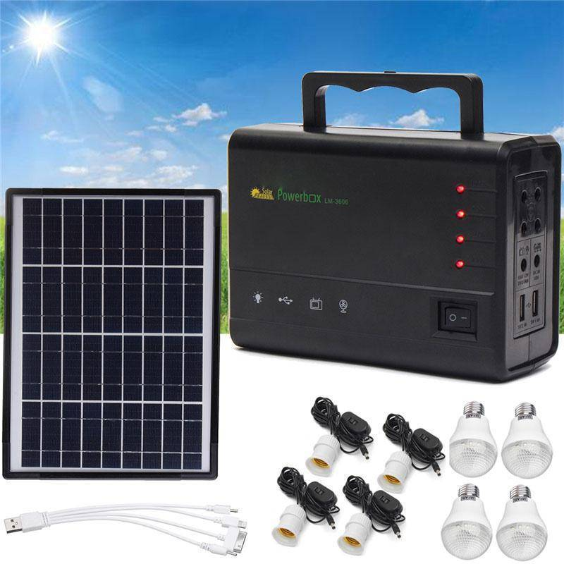Portable Solar Charging Power Generator