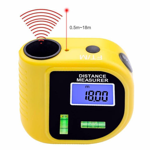 Image of Laser Digital Tape Measure