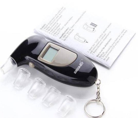 Image of Portable Professional Digital Alcohol Breathalyzer