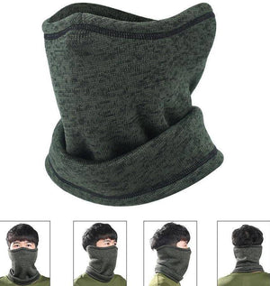 Magic Wool Half Face Mask and Neck Warmer