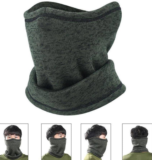 Magic Wool Half Face Mask Neck Warmer
