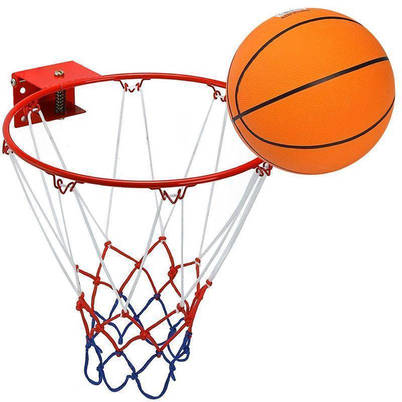 Stainless Steel Basketball Ring for Kids