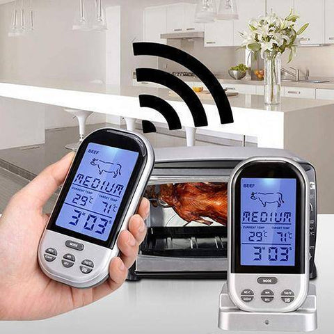 Image of Wireless Cooking Thermometer
