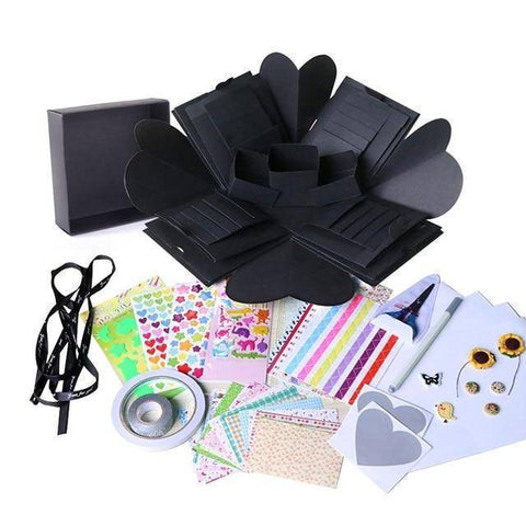 Image of Crafty DIY Explosion Gift Box