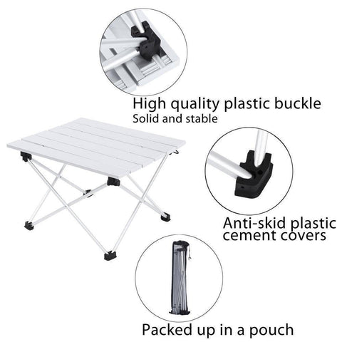 Image of Portable Outdoor Picnic Folding Table
