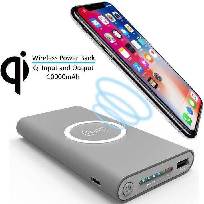 Portable Wireless Power Bank Charger