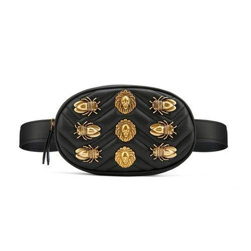 Women's Luxury Leather Waist Bag
