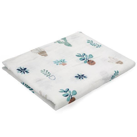 Image of 100% Cotton Baby Wrap Soft Newborn Blankets