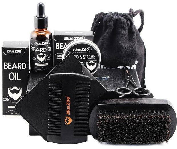 7 Piece Beard Grooming Set