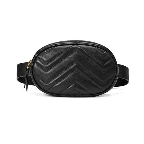 Image of Women's Luxury Leather Waist Bag