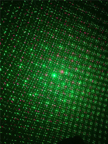 Red Green Laser Christmas Laser Projector