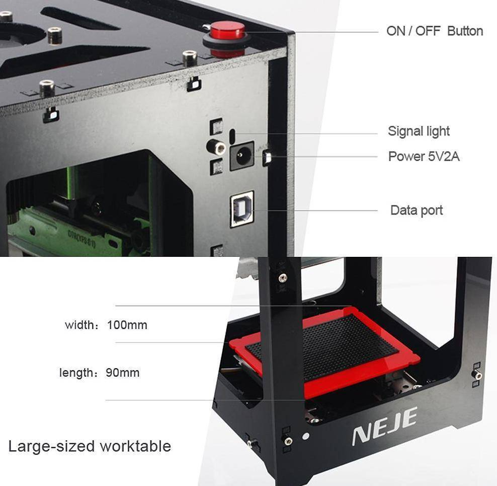 Automatic Laser Engraving Carver