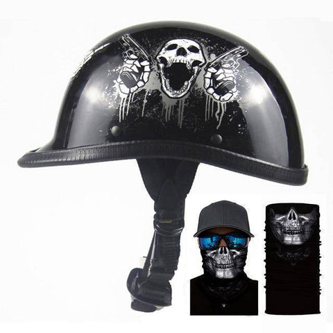 Image of Retro Helmet For Motorcycle
