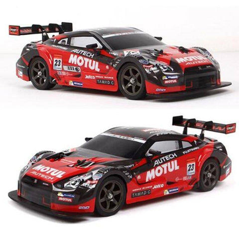 Image of GTR and Lexus 4WD Drift Racing Car