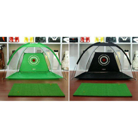 Golf Cage Swing Training Set