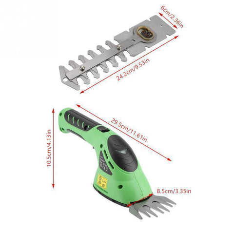 Image of Rechargeable Hedge Trimmer & Grass Cutter