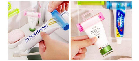 Image of Creative Rolling Toothpaste Squeezer