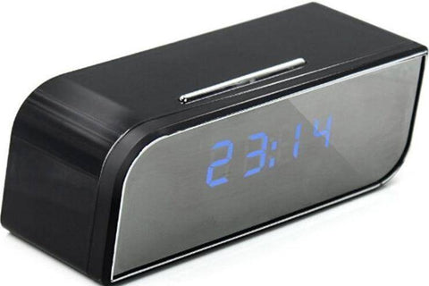 Image of 1080P Wireless Security Camera Alarm Clock