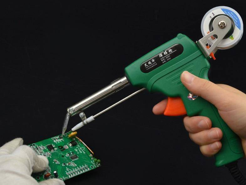 Soldering Gun with Automatic Tin Reel