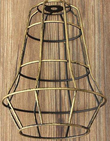 Image of Retro Industrial Bulb Light Cover Guard Cage
