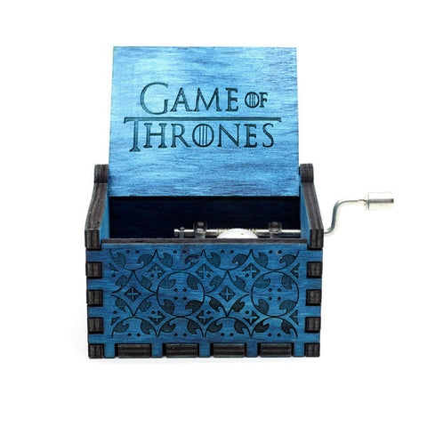 Game of Thrones and Star Wars Wooden Music Box