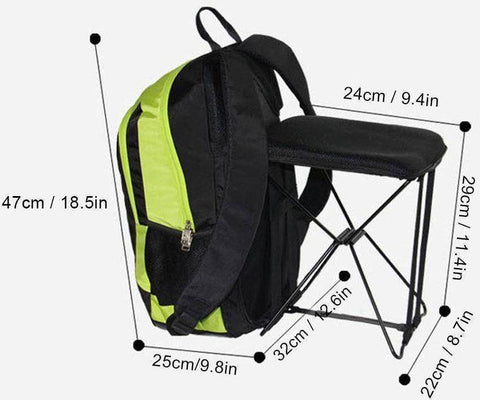 Image of 2-in-1 Chair Bag Backpack