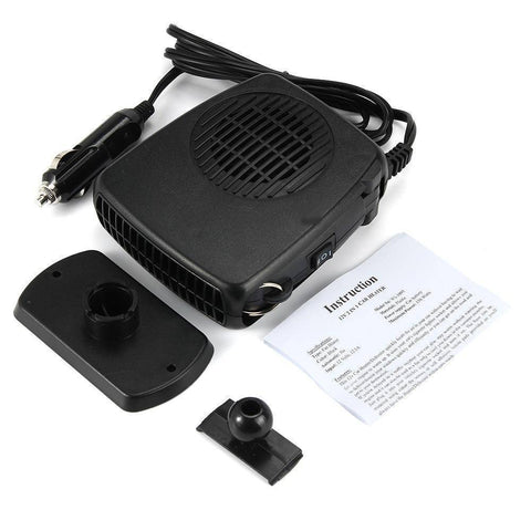 Image of Portable Car Heating Fan and Windshield Defroster