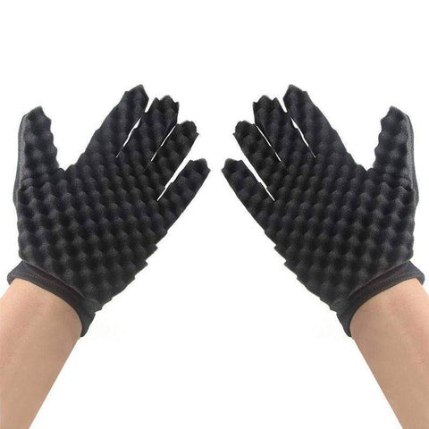 Curl Sponge Gloves