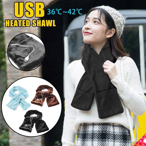 Image of Electric Heated Comfortable Scarf