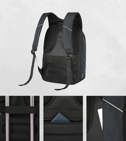 Image of Anti-Theft USB Charging Laptop Backpack