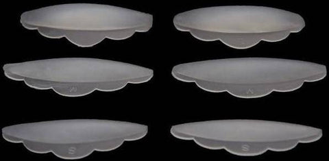 Image of 6pcs Silicone Eye Lash Shields Pads