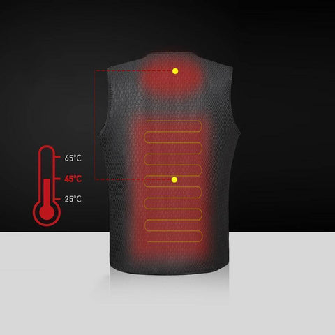 Image of Outdoor Thermal Heating Vest