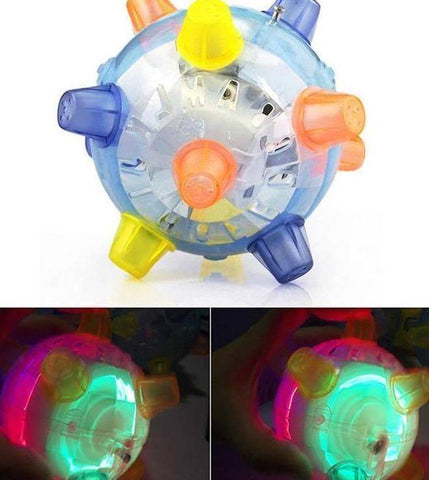 Image of Jumping Glowing Pet Ball