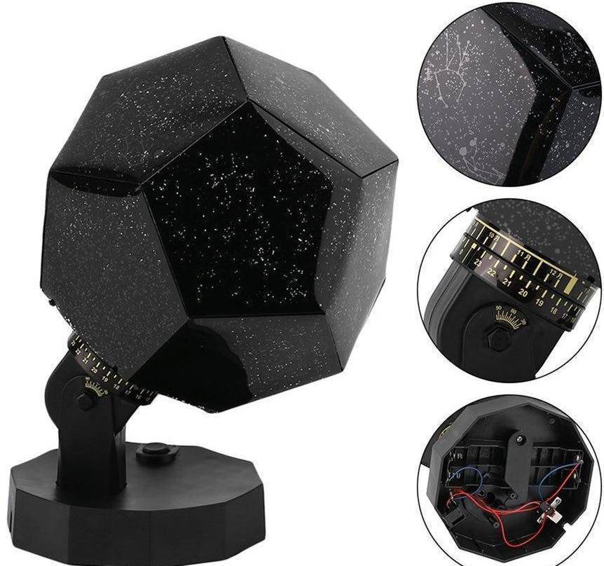Star Projector Night Light Lamp