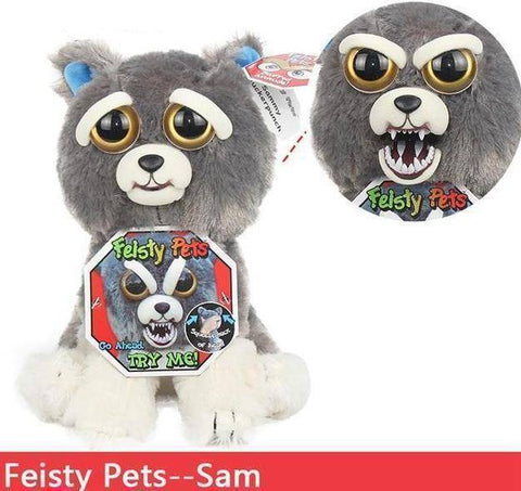 Image of Feisty Funny Expression Pets Plush Toy