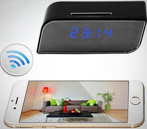 1080P Wireless Security Camera Alarm Clock
