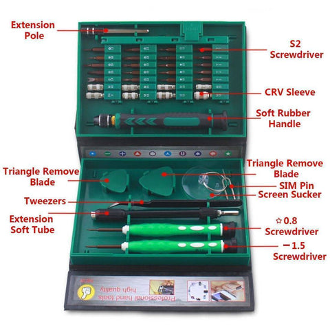 Image of 38 in 1 Precision Screwdriver Set