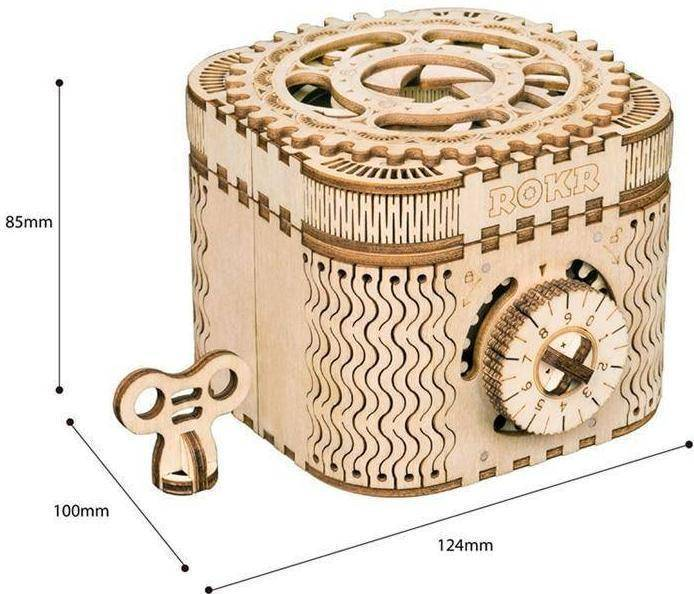 3D Wooden Model Building Kit