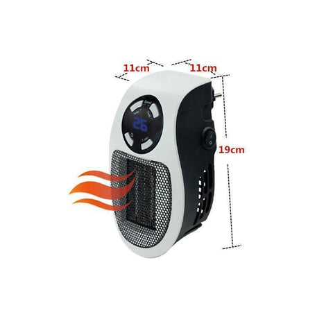Image of Desktop Electric Heater Mini Fan
