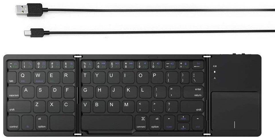 Foldable Bluetooth Travel Keyboard