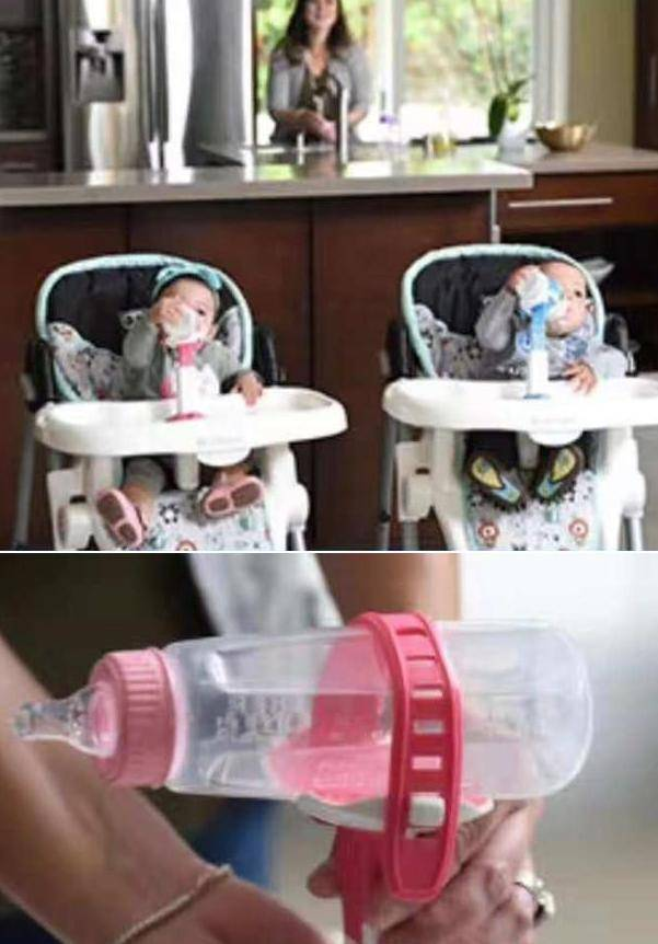 Hands-Free Feeding Bottle Holder